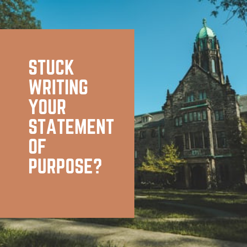 statement of purpose with sample and format