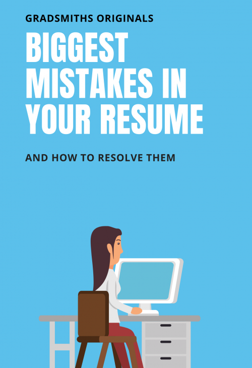 Biggest mistakes in your resume book cover